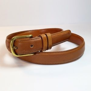Vintage Coach made in NYC Leather Belt
